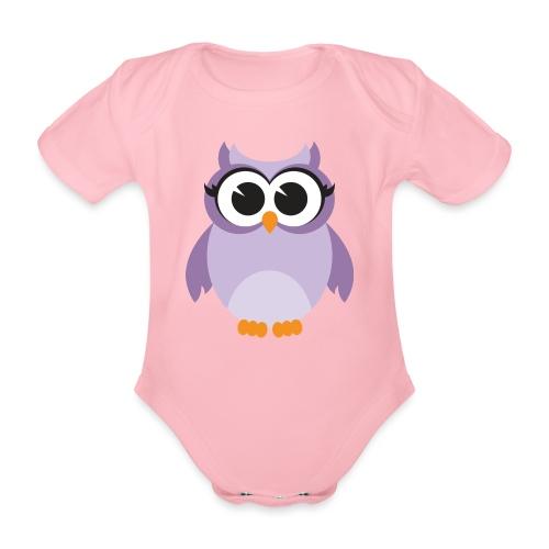 Buho Piconela - Body orgánico de manga corta para bebé