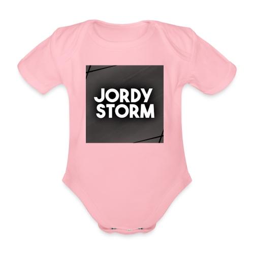 Storm Disign - Baby bio-rompertje met korte mouwen