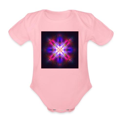 Ornament of Light - Baby Bio-Kurzarm-Body