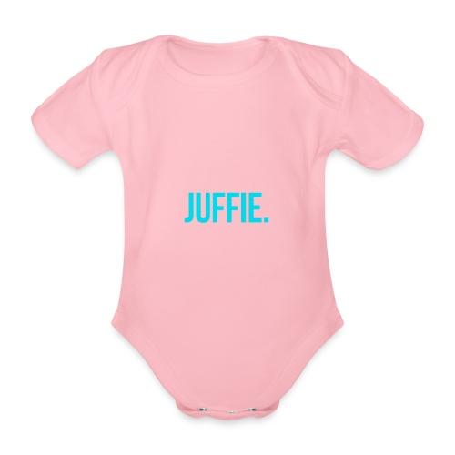 juffie - Baby bio-rompertje met korte mouwen