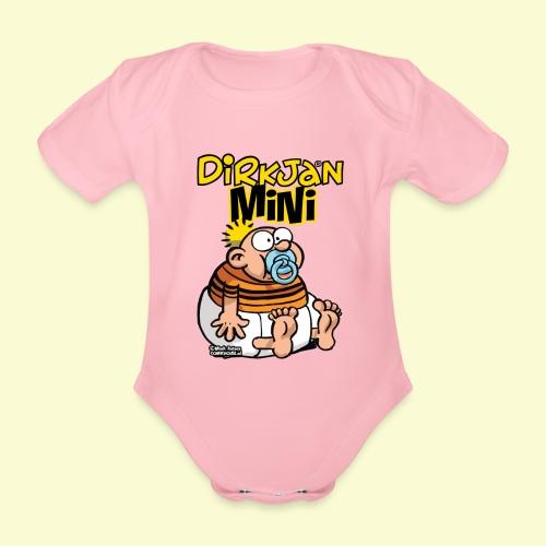 DirkjanBaby - Baby bio-rompertje met korte mouwen