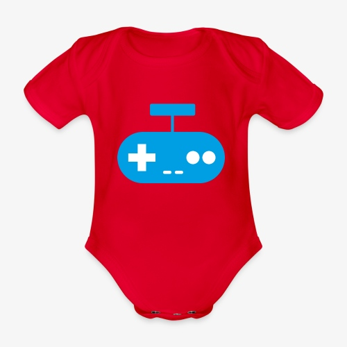 PREMIUM SO GEEEK GAMING - MINIMALIST DESIGN - Body Bébé bio manches courtes