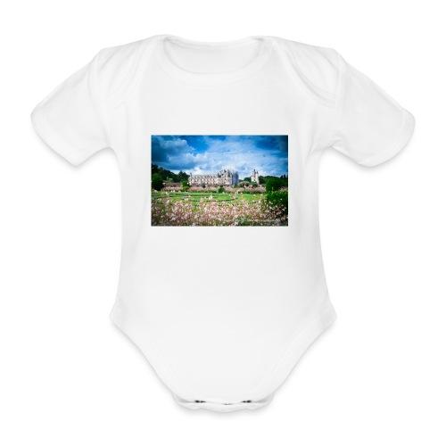 Barbara Mapelli - Castello di Chenonceau, Francia - Body ecologico per neonato a manica corta