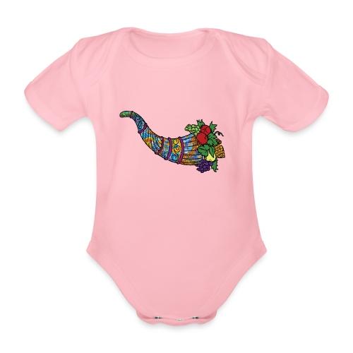 cornucopia - Organic Short-sleeved Baby Bodysuit