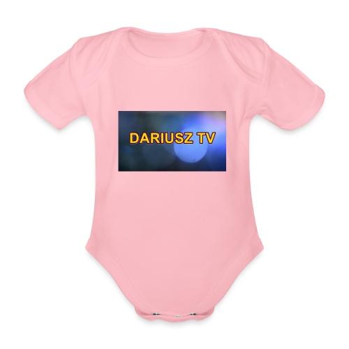 DARIUSZ TV - Ekologiczne body niemowlęce z krótkim rękawem