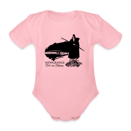 Legend_-_Newgrange3 - Organic Short-sleeved Baby Bodysuit