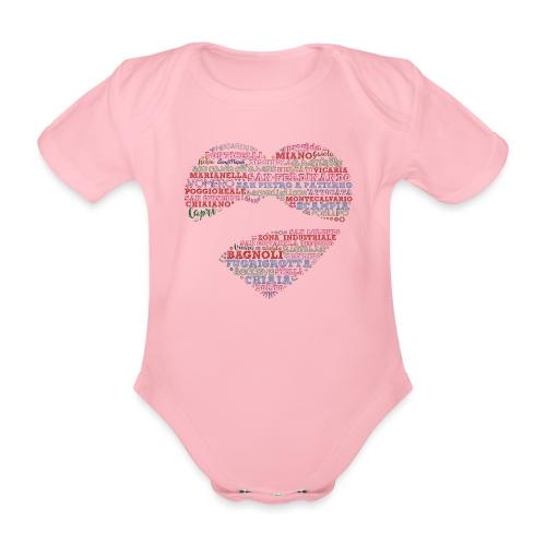 I Luoghi di Napoli di CuordiNapoli - Body ecologico per neonato a manica corta