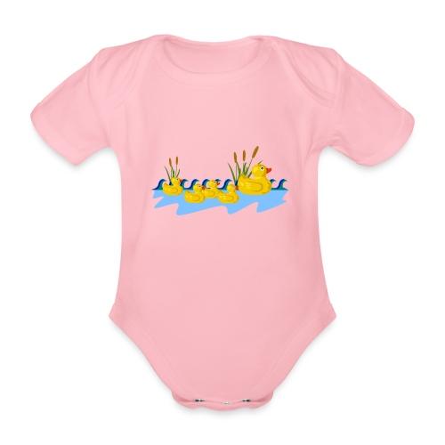 canard - Body bébé bio manches courtes