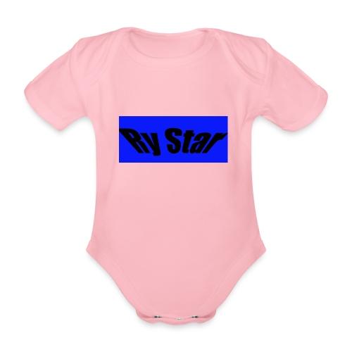 Ry Star clothing - Organic Short-sleeved Baby Bodysuit