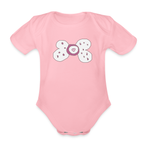 Baby Nuk Collection - Økologisk kortermet baby-body