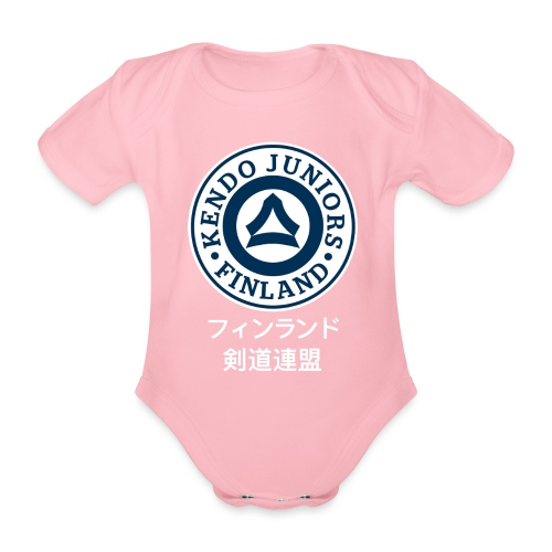 Junnu-FKA logo - Vauvan lyhythihainen luomu-body