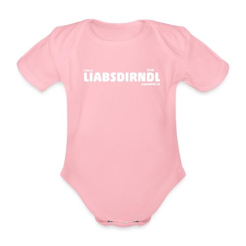 supatrüfö LIABSDIRNDL - Baby Bio-Kurzarm-Body