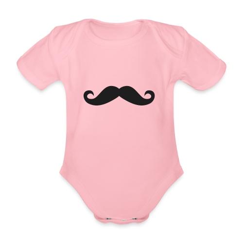 snorretje - Baby bio-rompertje met korte mouwen