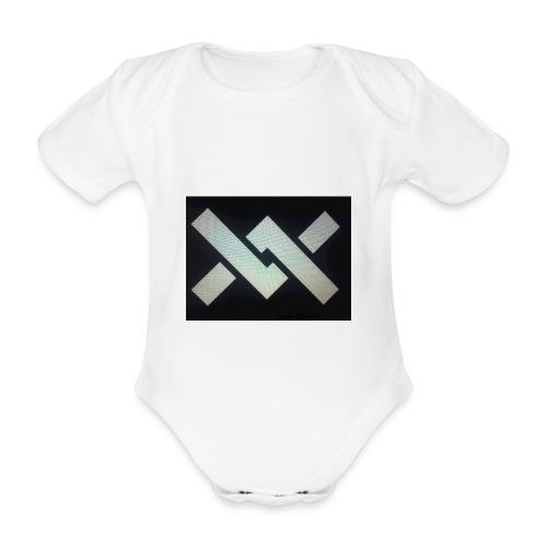 Original Movement Mens black t-shirt - Organic Short-sleeved Baby Bodysuit