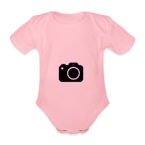 FM camera - Organic Short-sleeved Baby Bodysuit