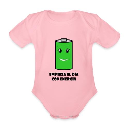Pila - Body orgánico de maga corta para bebé