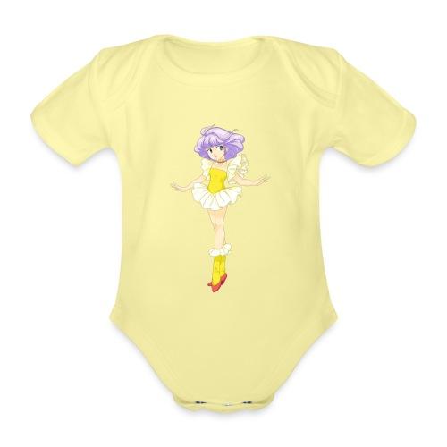 creamy - Body ecologico per neonato a manica corta