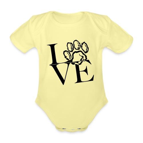 LoVE - Baby Bio-Kurzarm-Body