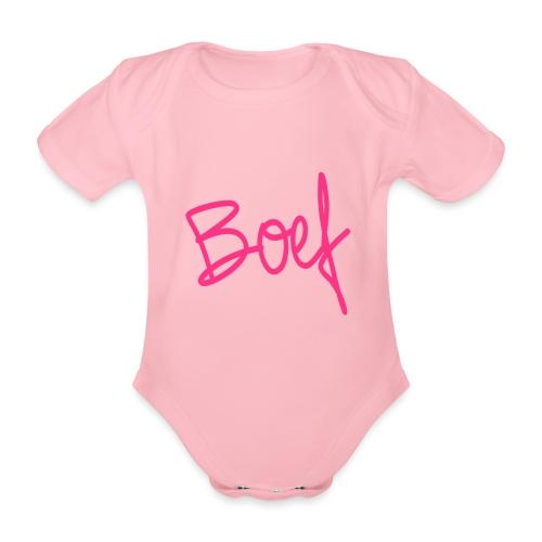 Boef - Baby bio-rompertje met korte mouwen