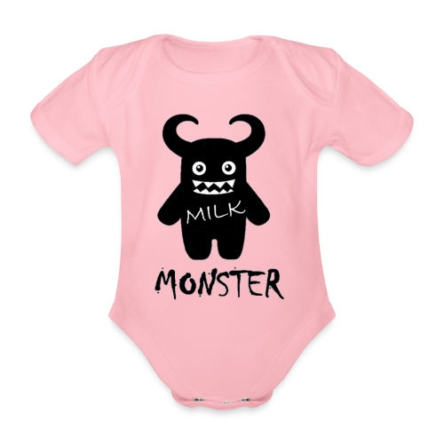 Milk Monster - Organic Short-sleeved Baby Bodysuit
