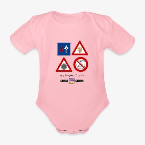 My personal code - Body ecologico per neonato a manica corta