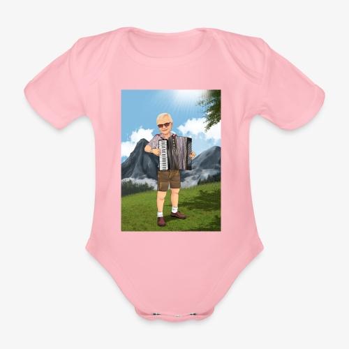 Bauer Adi mit Harmonie - Baby Bio-Kurzarm-Body