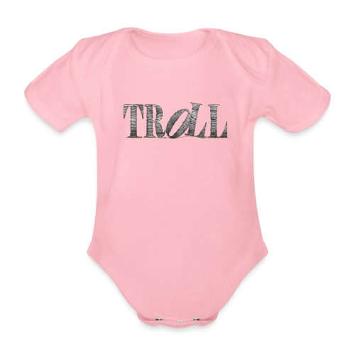 Troll - Organic Short-sleeved Baby Bodysuit