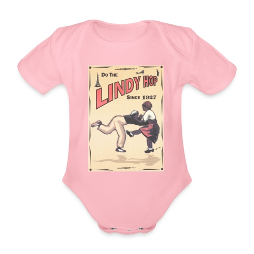 Do the Lindy Hop Since 1927 - Ekologisk kortärmad babybody