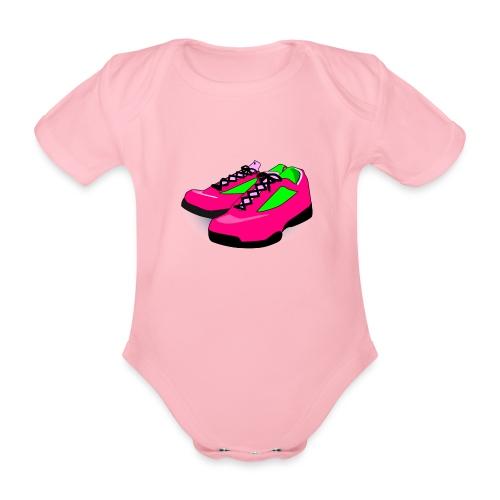 Laufschuh Frau png - Baby Bio-Kurzarm-Body