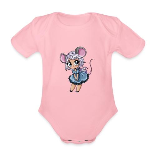 Petite Souris - Body Bébé bio manches courtes