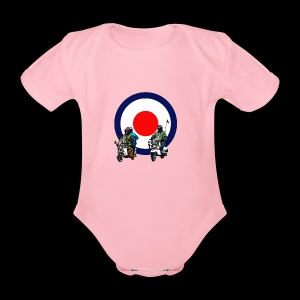 Mods - Organic Short-sleeved Baby Bodysuit