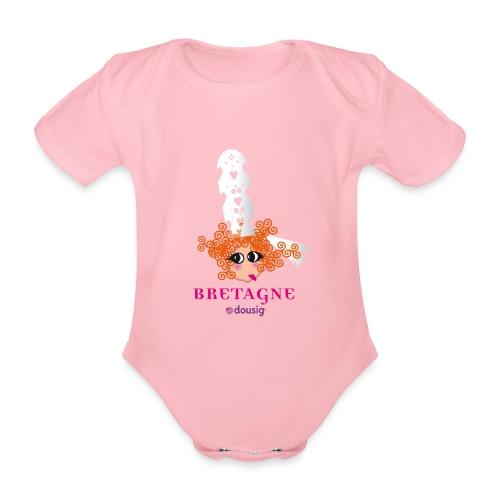 DOUSIG BIGOUDENE - Body bébé bio manches courtes