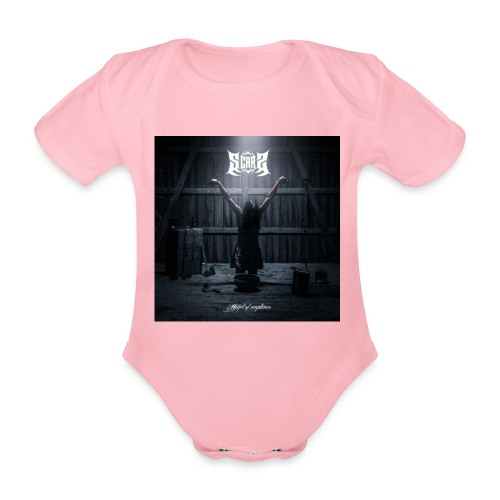 Heart Of Emptiness cover - Organic Short-sleeved Baby Bodysuit