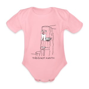 THIS IS NOT A MYTH! - Organic Short-sleeved Baby Bodysuit