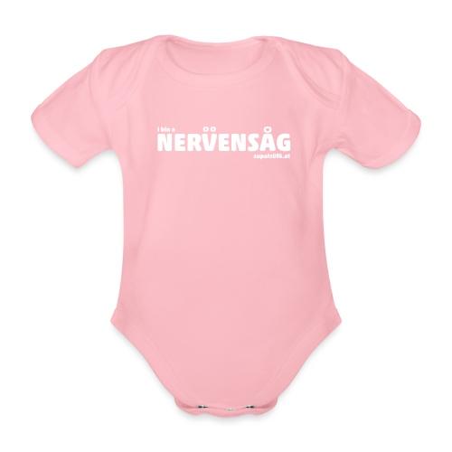 supatrüfö nervensag - Baby Bio-Kurzarm-Body