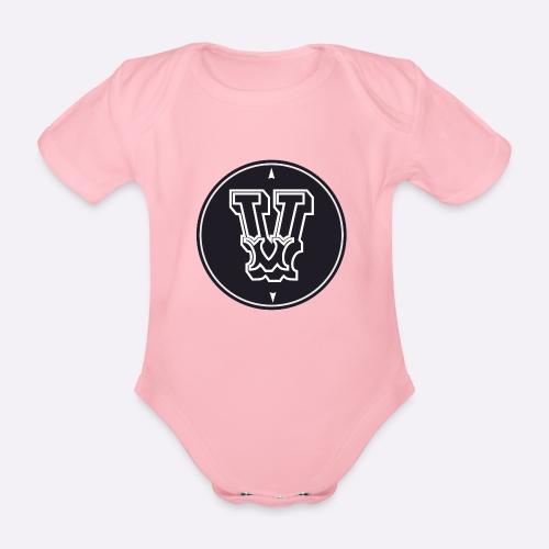Heartcore Vegan ICON - Baby bio-rompertje met korte mouwen