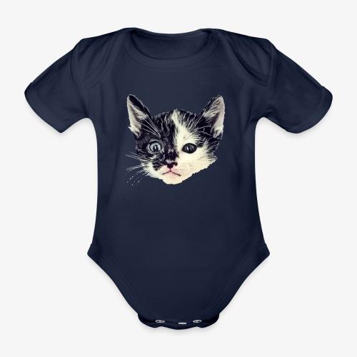 Double sided - Organic Short-sleeved Baby Bodysuit