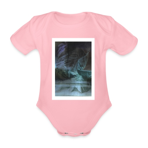 by Mazja Hillestrøm - Kortærmet babybody, økologisk bomuld