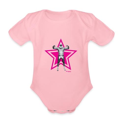 Hazy Logo - Baby Bio-Kurzarm-Body