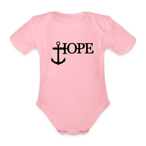 Hope Anker Anchor Hoffnung - Baby Bio-Kurzarm-Body