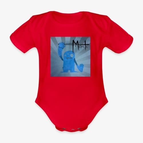 GringoLogo - Økologisk kortermet baby-body