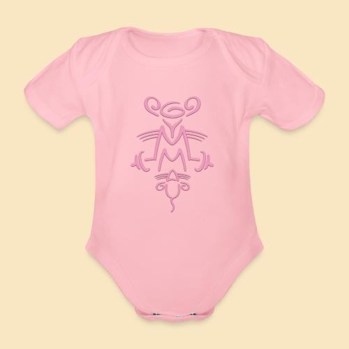 Gymmaus - Baby Bio-Kurzarm-Body