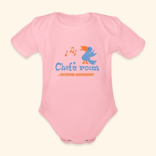 chefs room - Vauvan lyhythihainen luomu-body