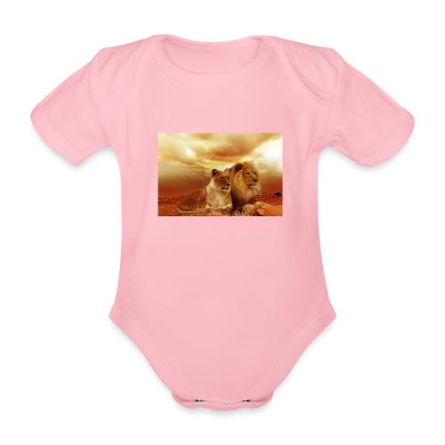 Löwen Lions - Baby Bio-Kurzarm-Body