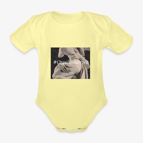 #OrgulloBarroco Proserpina - Body orgánico de manga corta para bebé