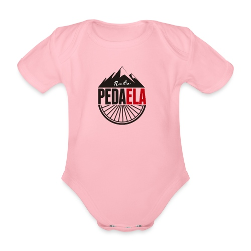 PEDAELA - Body orgánico de manga corta para bebé