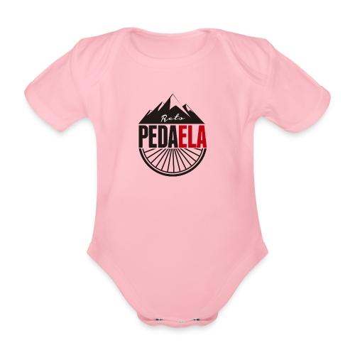 PEDAELA - Body orgánico de maga corta para bebé