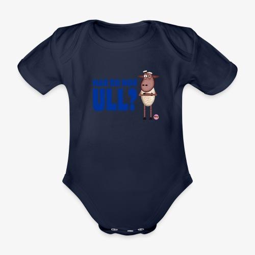 Bæ, bæ, lille lam - Økologisk kortermet baby-body