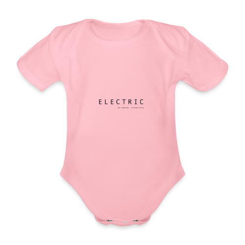 Electric - Organic Short-sleeved Baby Bodysuit