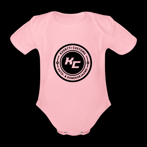 kc_tunnus_2vari - Vauvan lyhythihainen luomu-body